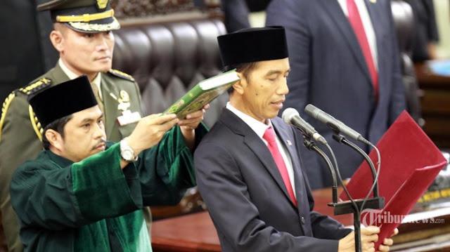 Ini Sumpah yang Akan Diucapkan Jokowi-Ma'ruf Saat Pelantikan