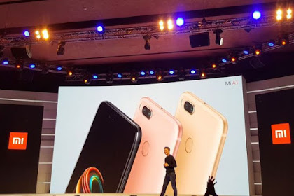 Xiaomi Mi A1 (5X) Android One Dengan Dual Camera