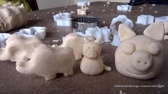 pasta di sale manipolazione montessori