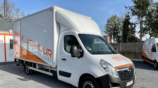 Vanaf €75,- | Verhuiswagen met laadklep 19 m³
