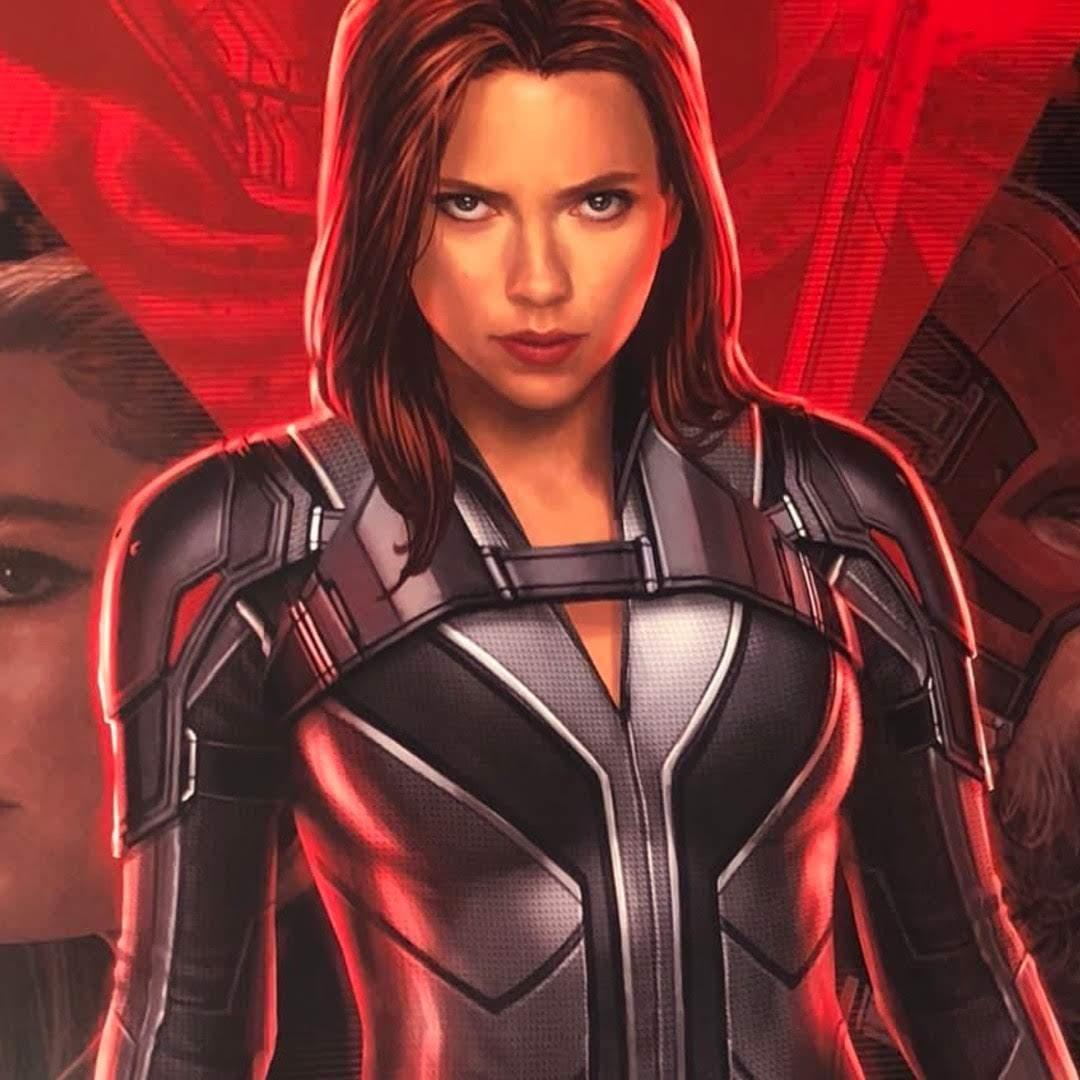 Black Widow : マーベル・シネマティック・ユニバースのスピンオフ映画「ブラック・ウィドウ」のスカーレット・ジョハンソンのナターシャが登場したスタンディー ! !