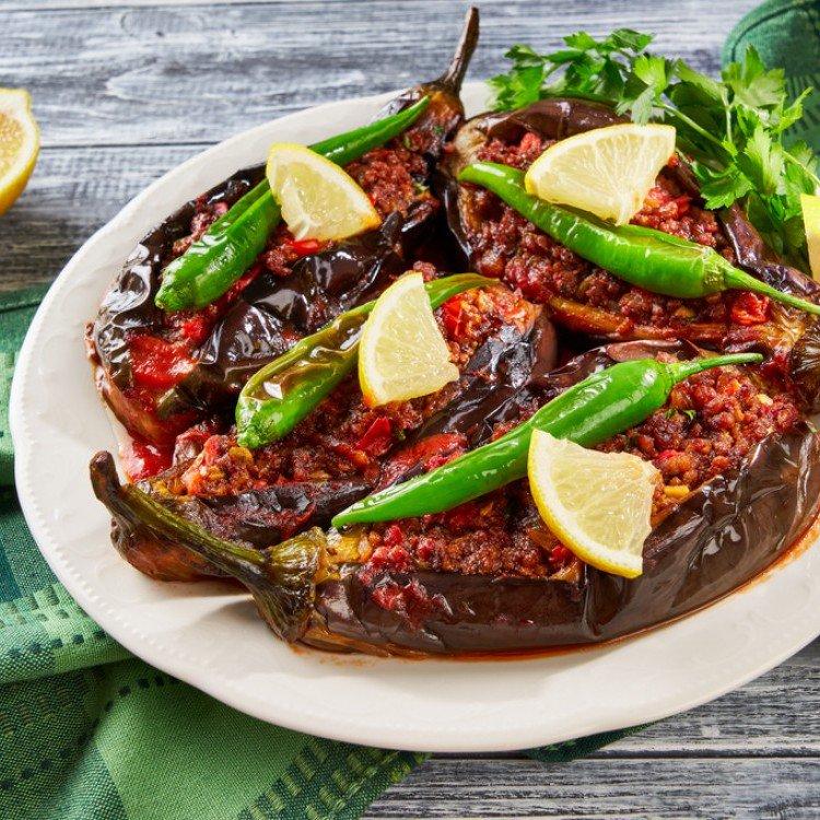 المطبخ التركي,باذنجان محشو باللحم, وصفات, وصفات تحظير الطعام, وصفات الطبخ,