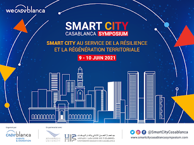 Smart City Casablanca Symposium les 9 et 10 juin 2021