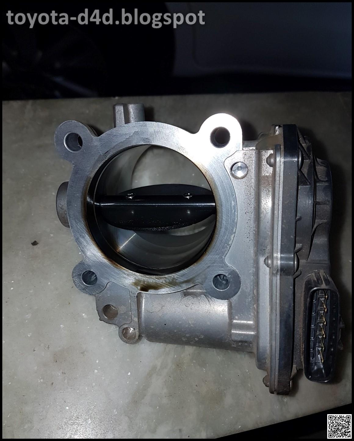Toyota D4D: 1GDFTV Diesel Throttle Plate Delete