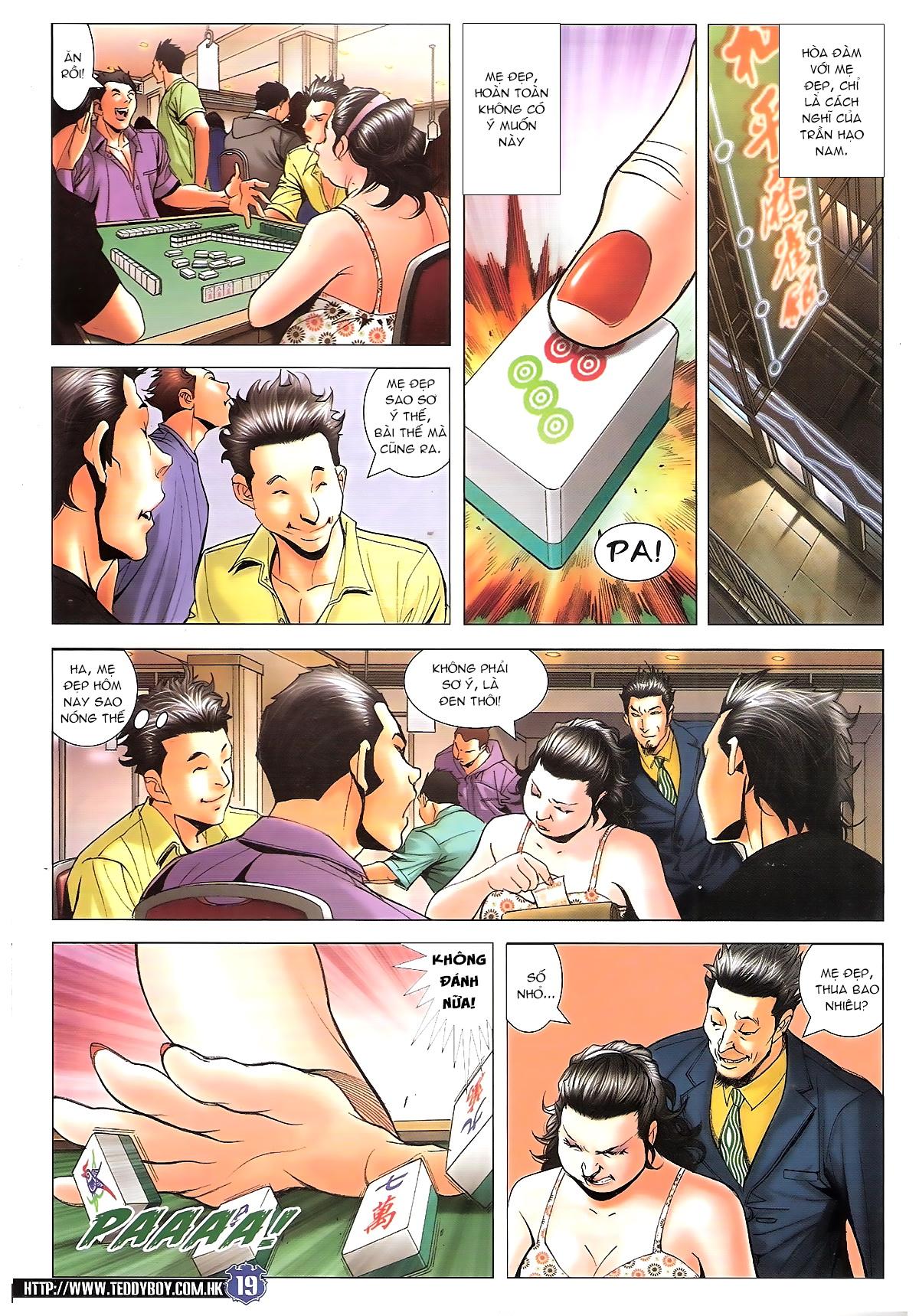 Người Trong Giang Hồ chapter 1645: làm khó đại b chảy trang 17