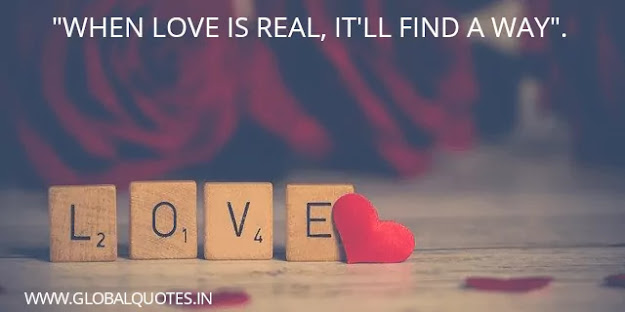when love is real its find a way