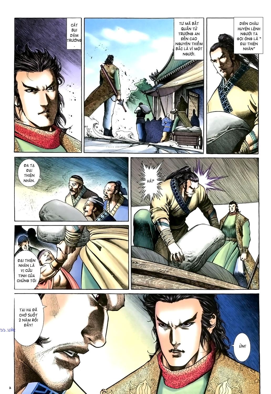 Anh hùng vô lệ Chap 15: Hổ thét long gầm người cạn chén  trang 5
