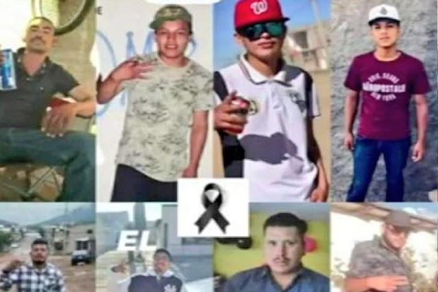 Fotos; Ellos son los 9 que fueron acribillados mientras hacen un party , Sicarios llegaron y comenzaron a disparar a quienes tuvieran a la vista en Cuauhtémoc, Chihuahua