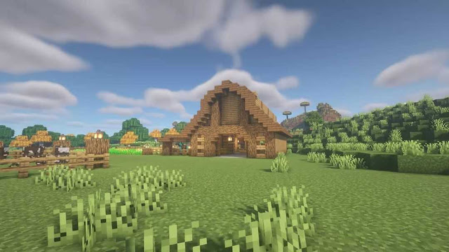 Medieval Barn In Minecraft