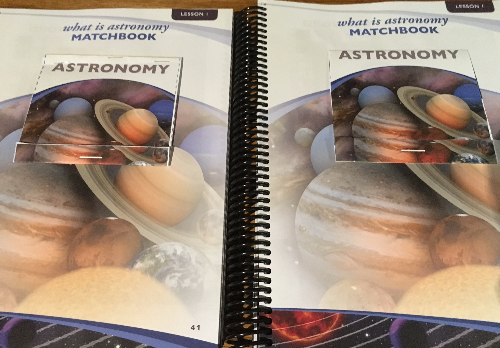 Notebooking activities for astronomy