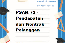 PSAK 72 - Pendapatan dari Kontrak Pelanggan