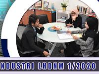 Latihan Industri di Lembaga Hasil Dalam Negeri LHDN 1/2020