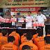 OPS antik krakatau 2020, Polres Lampura berhasil amankan 59 orang penyalahgunaan narkoba