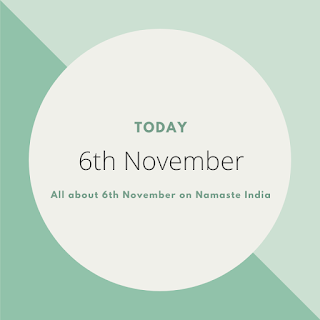 6th November - A Day in the life of India