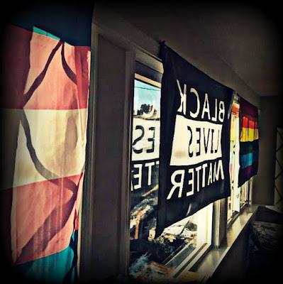 M.W. Bychowski's flag room
