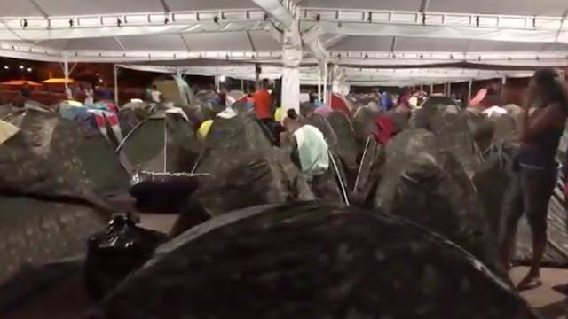 Acnur anunció que albergues de migrantes en la frontera de Brasil están saturados
