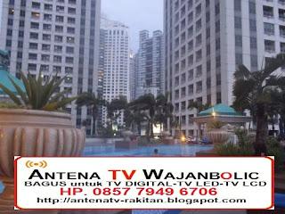 Jual ANTENA TV WAJANBOLIC  Apartemen Pavilion Tower Jakarta Pusat