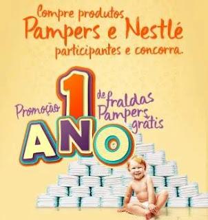 Promoção Super Muffato 1 Ano Fraldas Grátis Pampers e Nestlé