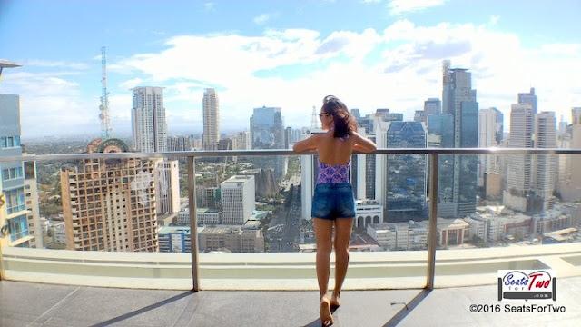 Denim Shorts from Penshoppe / City Garden Grand Hotel
