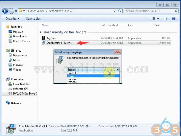 How to install FVDI J2534 ELM328 Software on Windows 7