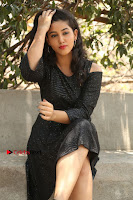 Telugu Actress Pavani Latest Pos in Black Short Dress at Smile Pictures Production No 1 Movie Opening  0075.JPG