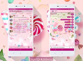Candy Love Theme For YOWhatsApp & Fouad WhatsApp By Nanda