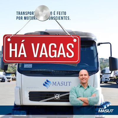 transportadora Masut vaga para motorista