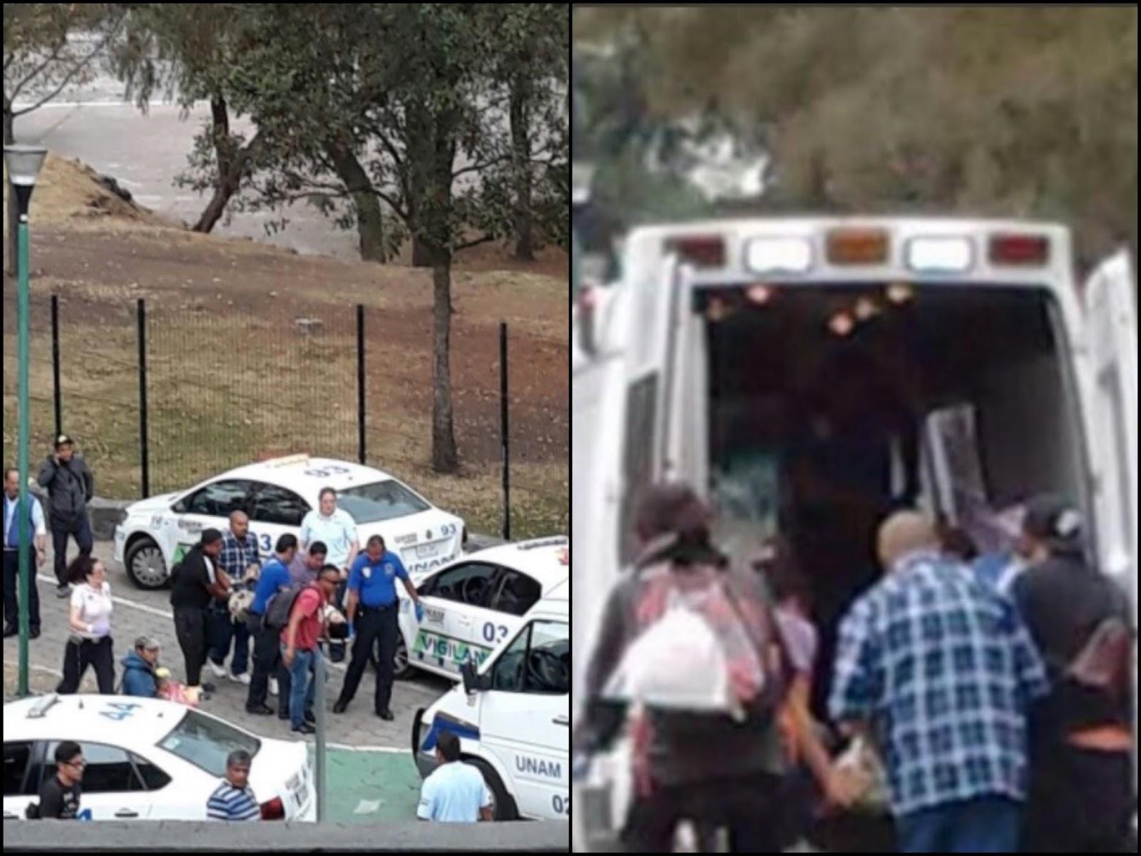 Balacera entre gatilleros en la UNAM deja dos narcos ejecutados