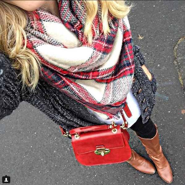 The Budget Babe in great fall layers!