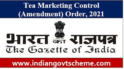 Tea Marketing Control