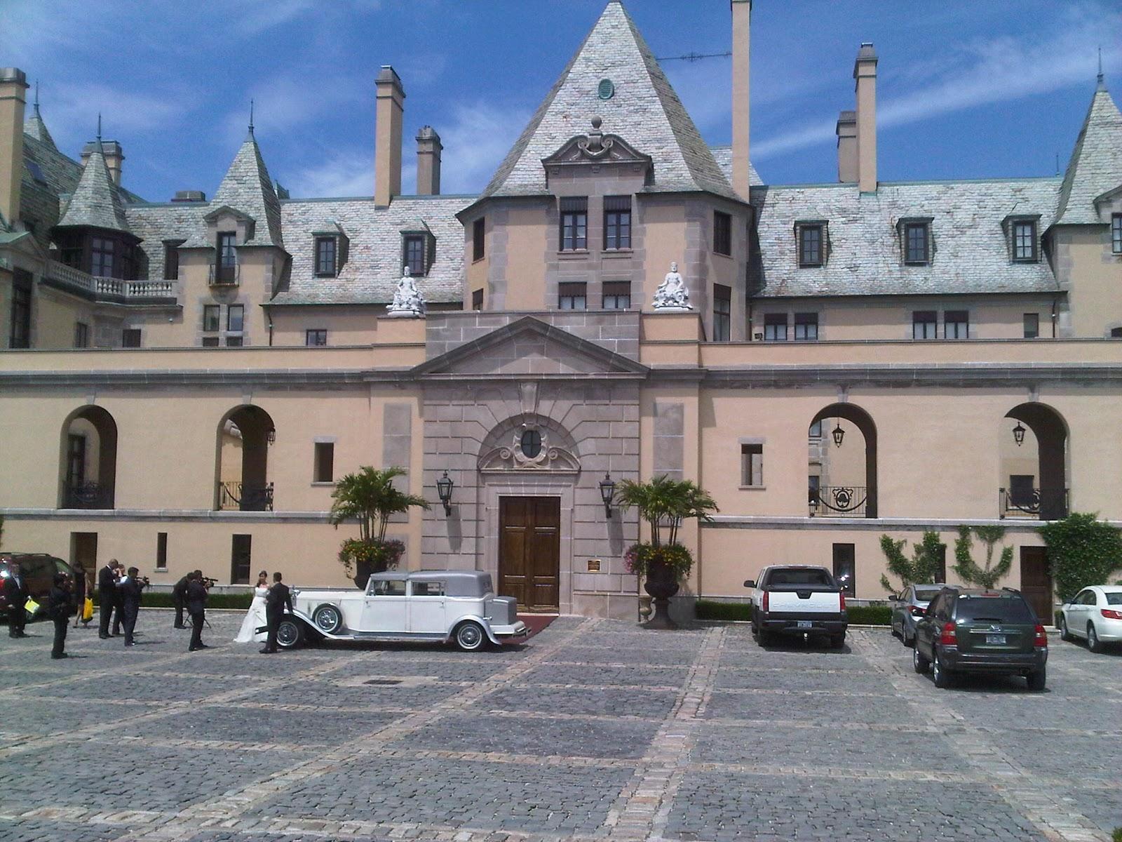 The Wandering Bride Oheka Castle