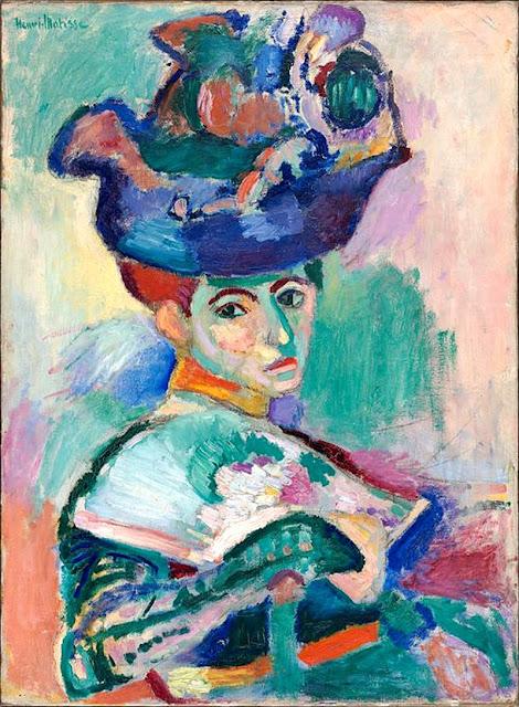 "Henri Matisse ""Kobieta w Kapeluszu"" (1905) San Francisco Museum of Modern Art"