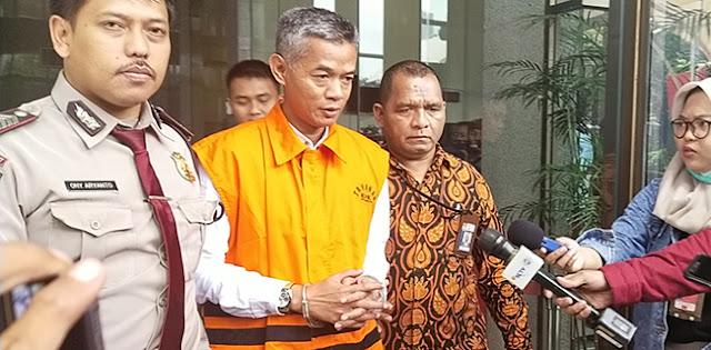 Wahyu Setiawan Dijebloskan Ke Lapas Kedungpane Semarang Selama 7 Tahun