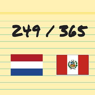 Nederland tegen Peru