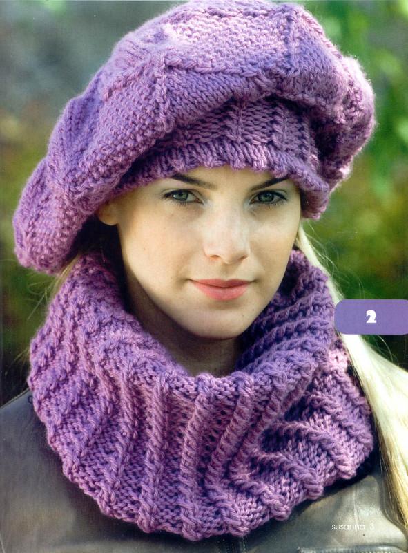 Free Knitting Pattern Ladies Knitted Hat Patterns