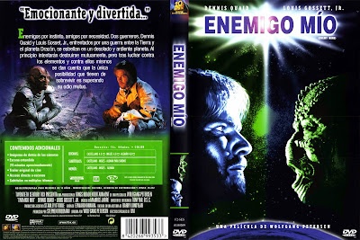 Carátula dvd: Enemigo mío (1985) Enemy Mine