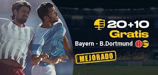 bwin promo Bayern vs Dortmund 9 noviembre 2019