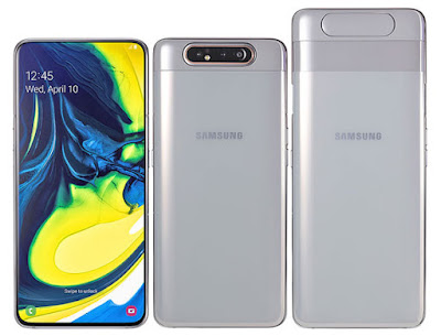 Samsung Galaxy A80 with pop up rotating rear camera