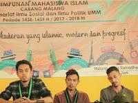 Jadikan HMI Komisariat ISIP UMM Sebagai Rumah Kedua Perkaderan