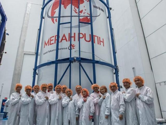 Satelit Merah Putih Sukses Mengangkasa, Inilah Fakta Bikin Bangga!!!. Gambar 1