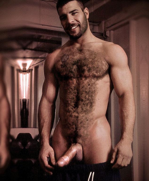 Naked Hairy Muscular Men