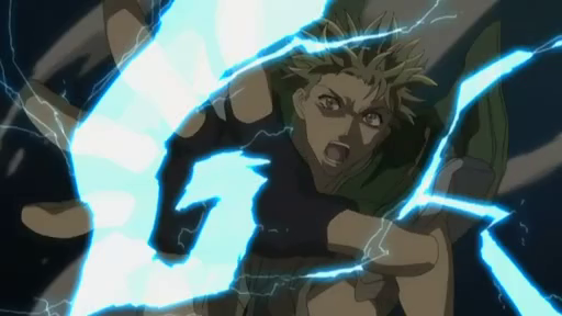 Ginji, Get backers, badass, anime characters with lightning, badass anime characters, lightning abilities, lightning attacks, electric ability
