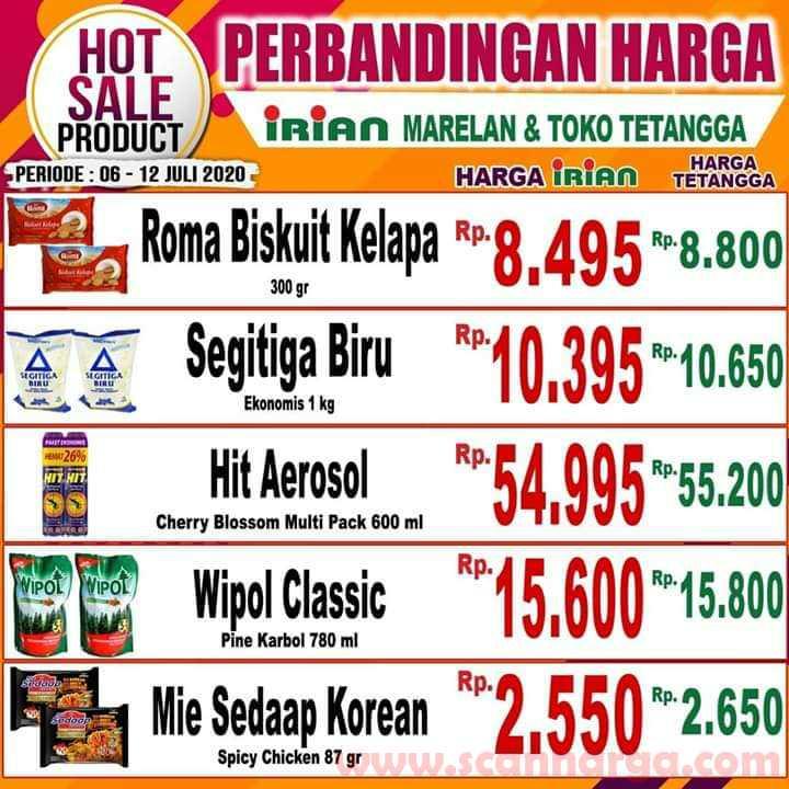 Katalog Promo IRIAN Supermarket Dan Department Store 6 - 12 Juli 2020 2