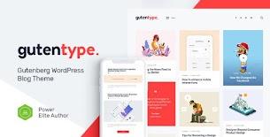 Gutentype | Tema 100% Gutenberg WordPress cancelado para blog moderno v1.9.7