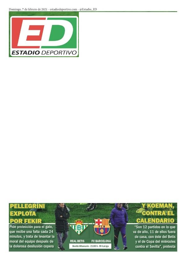 """Betis, Estadio Deportivo: """"Pellegrini explota por Fekir"""""""