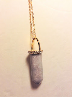 rue21 crystal necklace