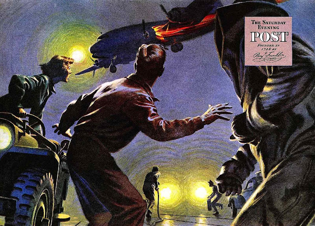 a James R. Bingham illustration for the Saturday Evening Post
