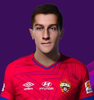 PES 2021 Faces Konstantin Maradishvili by Korneev