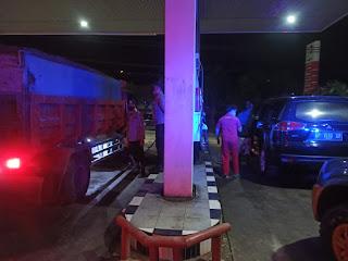 Personel Polsek Anggeraja Gencarkan Patroli Blue Light Untuk Mencegah Terjadinya Tindak Kriminal