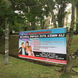 Forum Skandal RM400 Juta Azmin Ali Palsu